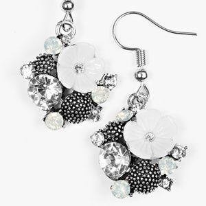 Lily Valleys - White Earrings